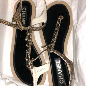 Brand New Beautiful Chanel Sandals